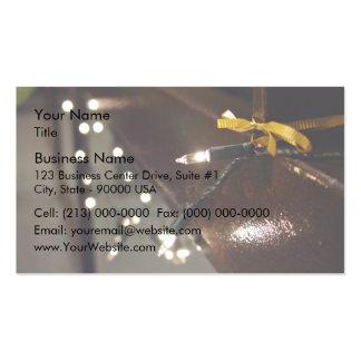 LED Light String Business Cards
