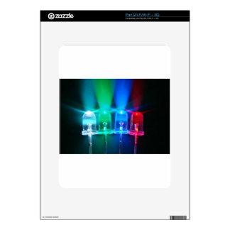 LED Lights iPad Decals