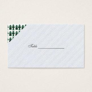 LED Stitchery Type Man and Woman Business Card