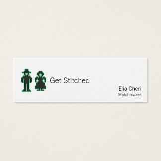 LED Stitchery Type Man and Woman Mini Business Card