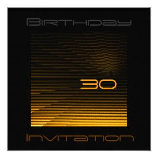 LED Stripes Invitacion Personalizada