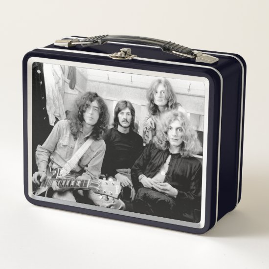 Led Zeppelin | An Early Photo Metal Lunch Box