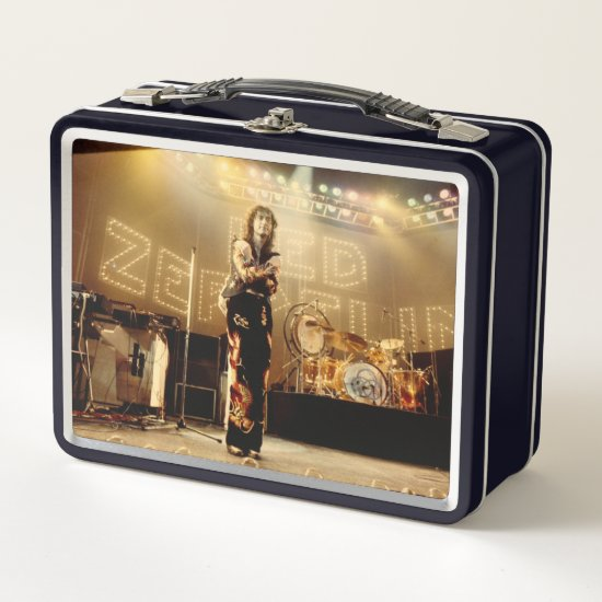 Led Zeppelin | Jimmy Page 1975 Metal Lunch Box