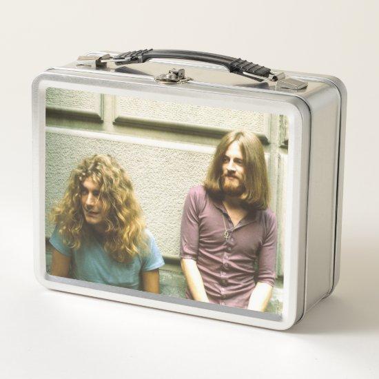 Led Zeppelin | Robert Plant & John Paul Jones Metal Lunch Box