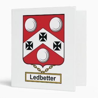 Ledbetter Family Crest Vinyl Binder