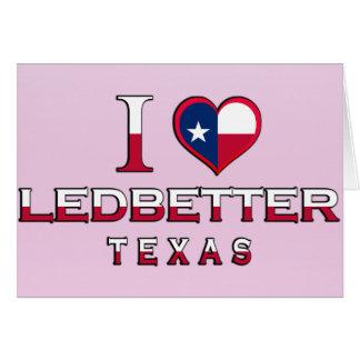 Ledbetter, Texas Greeting Card