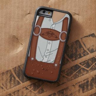 Lederhosen bávaros alemanes de Lederhose Funda De iPhone 6 Tough Xtreme