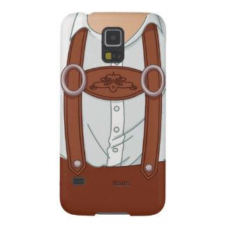 Lederhosen del Bavarian de Alemania Carcasas De Galaxy S5