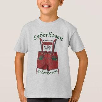 Lederhosen... T-Shirt