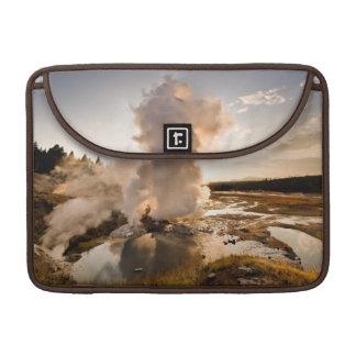 Ledge Geyser, Norris Geyser Basin Sleeves For MacBook Pro