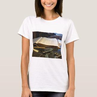 Ledger and Eyeglasses T-Shirt