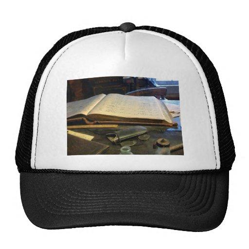Ledger and Eyeglasses Trucker Hat