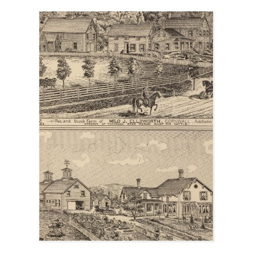 Ledgeside and Glen Dale, farms and residences Postcards