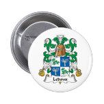 Ledoux Family Crest Button
