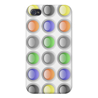 LEDs iPhone 4 Cover