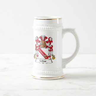 Leduc Family Crest Coffee Mugs