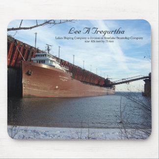 Lee A.Tregurtha Marquette mousepad