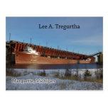 Lee A. Tregurtha Marquette post card