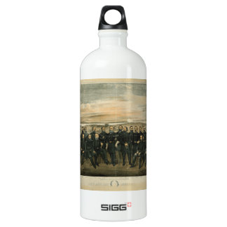 Lee And His General by Americus Patterson (1904) Water Bottle