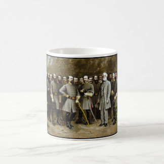Lee and His Generals Coffee Mug