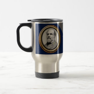 Lee and Jackson Civil War Travel Mug