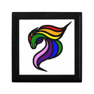LEE BUN Rainbow LOGO .png Keepsake Box