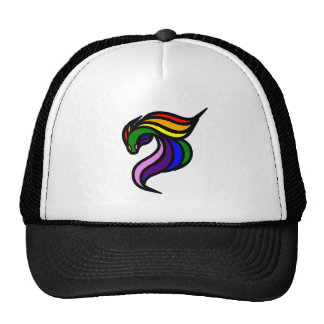 LEE BUN Rainbow LOGO .png Trucker Hat