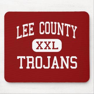 Lee County - Trojans - High - Leesburg Georgia Mouse Pad