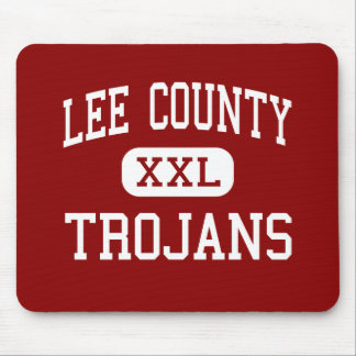 Lee County - Trojans - Middle - Leesburg Georgia Mouse Pad