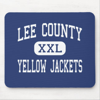 Lee County - Yellow Jackets - High - Sanford Mouse Pad