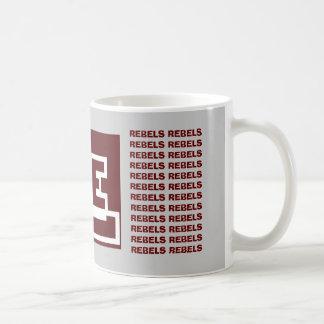 Lee Diamond, REBELS REBELS REBELS REBELS REBELS... Classic White Coffee Mug