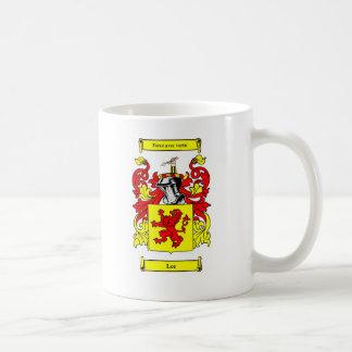Lee (English) Coat of Arms Coffee Mug