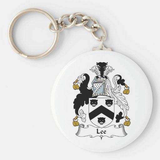 Lee Family Crest Keychains