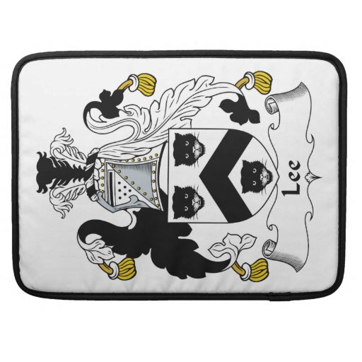 Lee Family Crest Sleeves For MacBook Pro