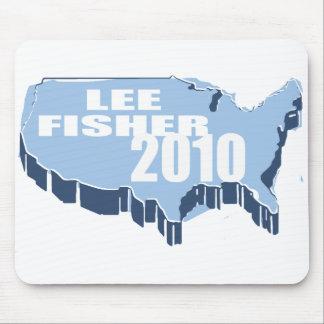 LEE FISHER FOR SENATE MOUSEPAD