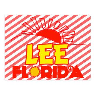 Lee, Florida Postcard