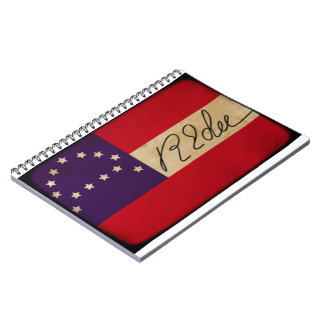 Lee Headquarters Flag with Signature Notebook