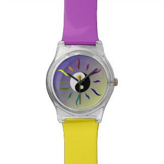 Lee Hiller Yin Yang Sun Moon Designer Watch