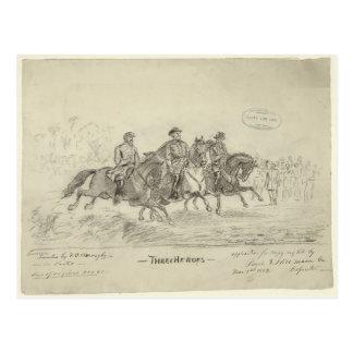 Lee, Jackson, Stuart Postcard
