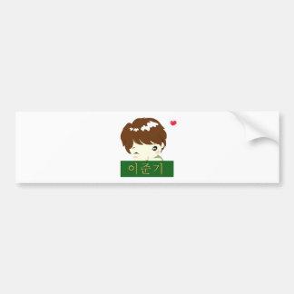 Lee Jun Ki - Chibi Hero Bumper Sticker
