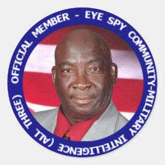 Lee L. Mercer, Jr. para el presidente pegatina