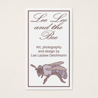 Lee Lee and the Bee, business profile cards