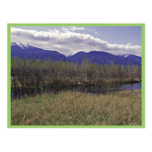 Lee Metcalf National Wildlife Refuge, Montana Postcard