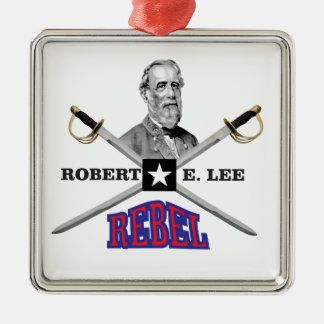 Lee purple rebel metal ornament