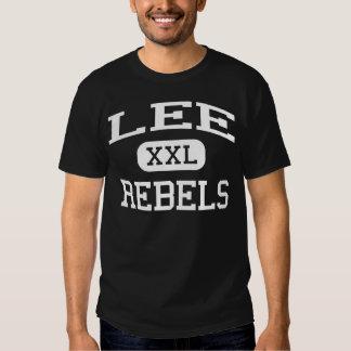 Lee rebela escuela secundaria Wyoming Michigan Playeras