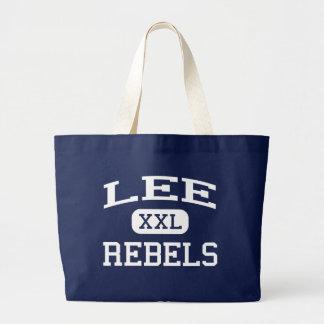 Lee Rebels Middle School Wyoming Michigan Jumbo Tote Bag