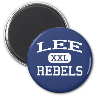 Lee Rebels Middle School Wyoming Michigan 2 Inch Round Magnet