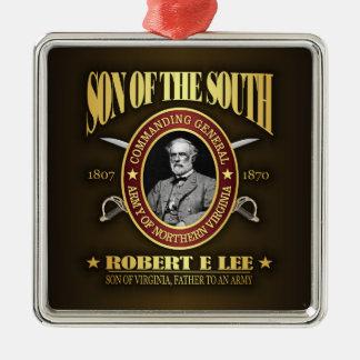 Lee (SOTS2) Adorno Cuadrado Plateado