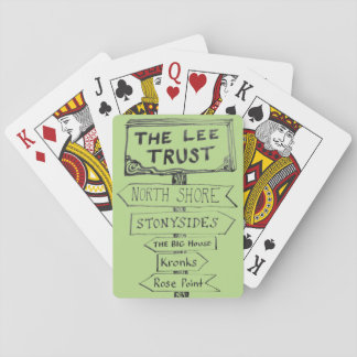 Lee Trust 50th Anniversary Playing Cards