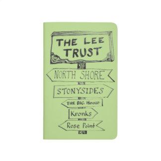 Lee Trust 50th Anniversary Pocket Journal - green